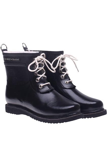 korte gummistøvler bilka