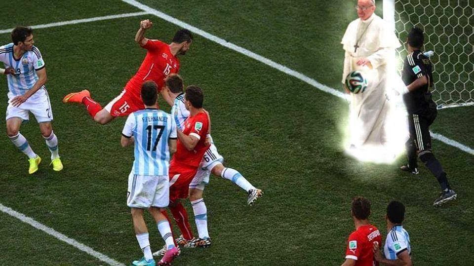 Meme Mundialista : Argentina y el Papa Francisco
