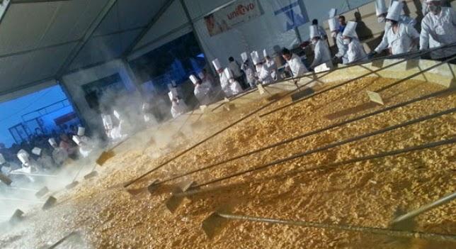 tortilla mas grande del mundo