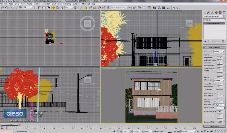 Making Of Vray And 3ds Max Exterior Scene Cg Tutorial