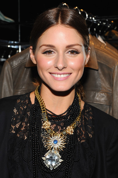 Olivia Palermo Gemstone Statement Necklace Olivia Palermo Loves To