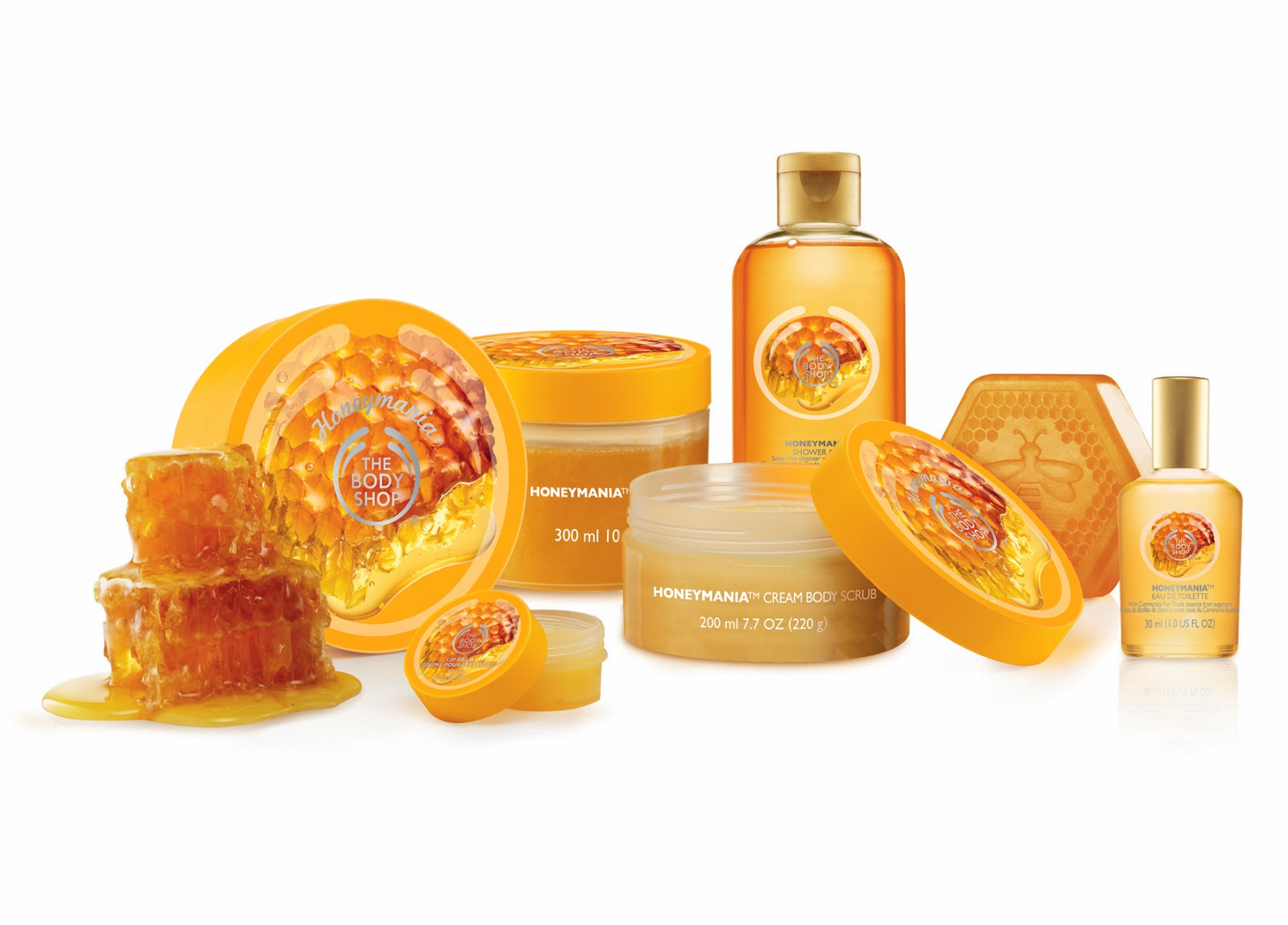 PR- The Body Shop's New HoneyMania Range