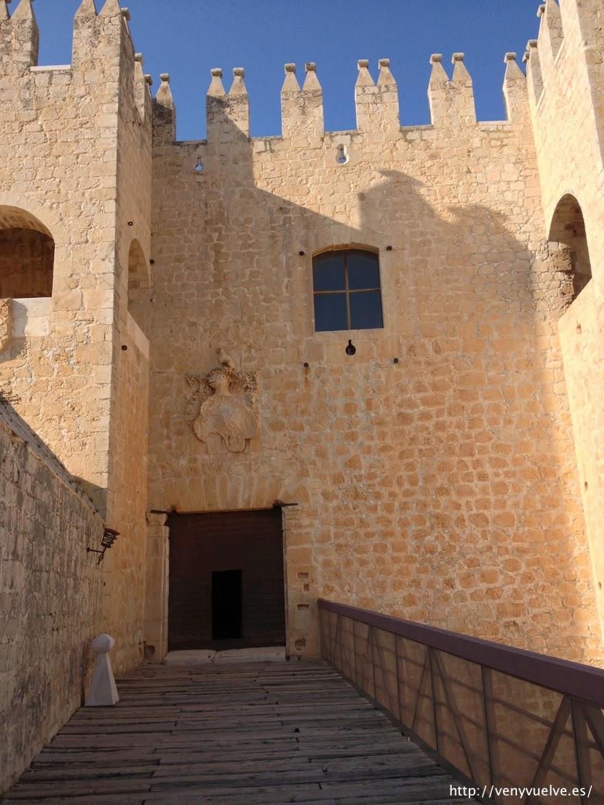 Entrada del Castillo de Vélez Blanco