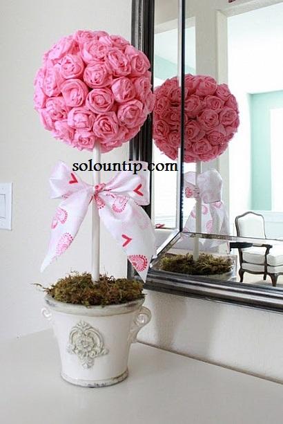Valentine's Day Topiary