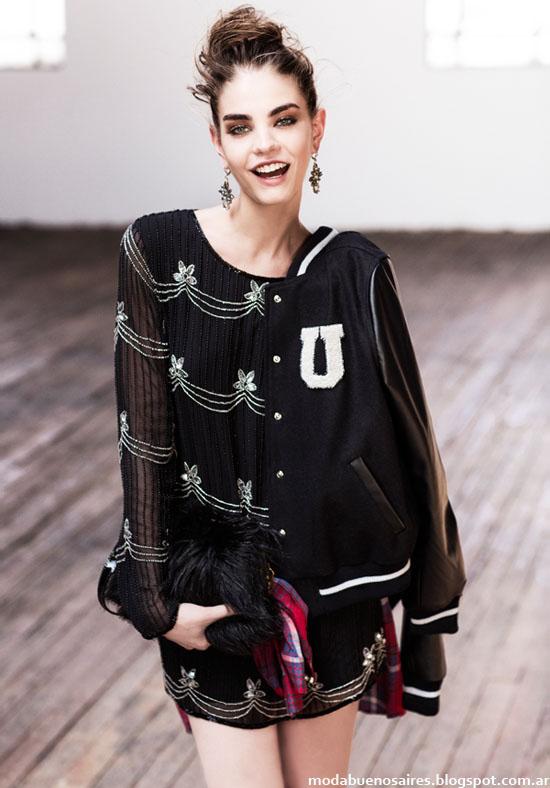 Looks moda otoño invierno 2014 colecciòn Uma otoño invierno 2014.