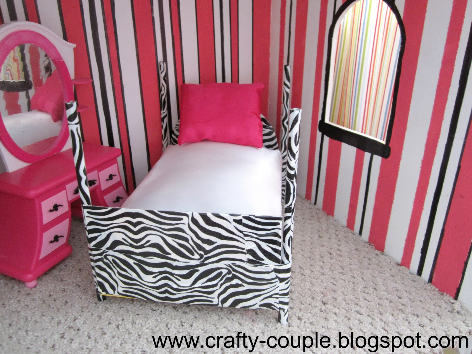 Crafty Couple Diy Barbie Bed