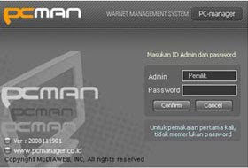 Billing Warnet PCMAN Ver.2009052601 Pc2
