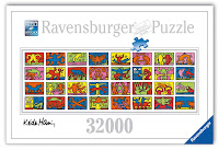 world's largest jigsaw puzzle, Keith Haring, Ravensburger