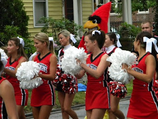 the tom gulley show cheerleaders
