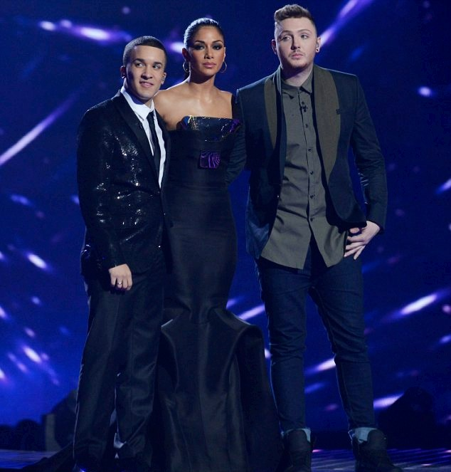 James Arthur in McQ Alexander McQueen - XFactor UK Final