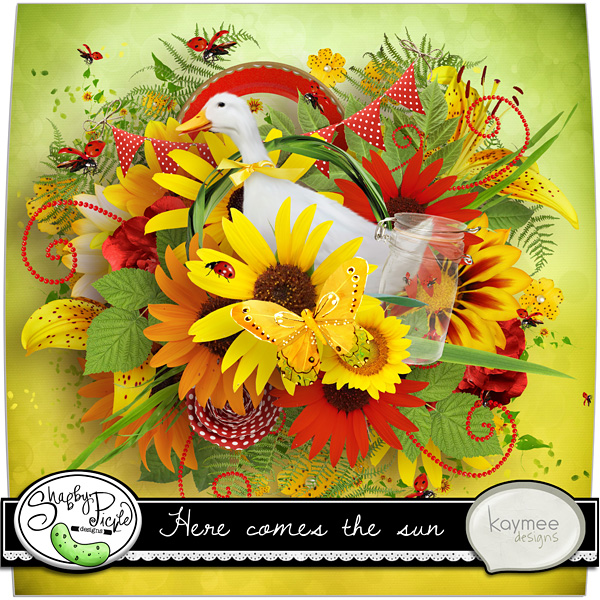 "Designs Kaymee -kit "" Here Comes The Sun"""