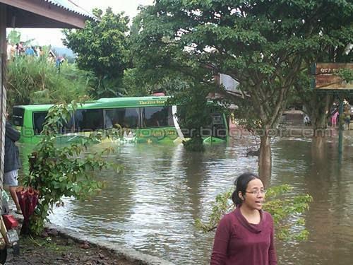 musibah banjir dikota pdg pjg