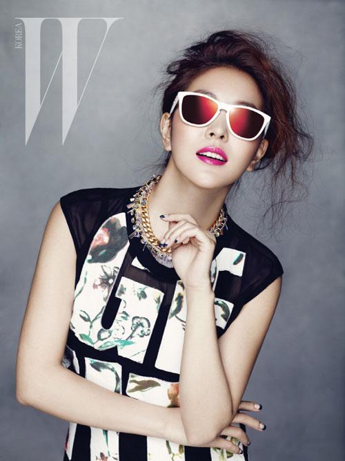 BoA W Korea Magazine 01