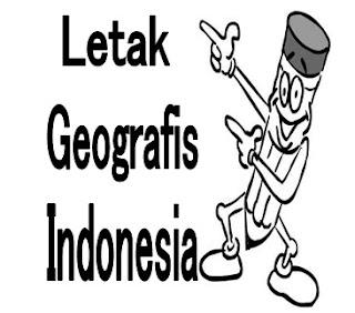 Letak Geografis Wilayah Indonesia Ilmusiana Gambar Peta