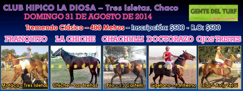Tres Isletas Mas Clasico 31-08