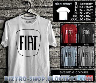 Kaos Fiat Logo 1