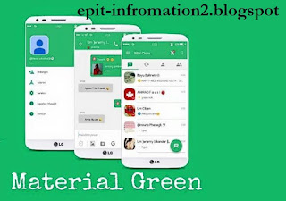 Update BBM Beta Mod Material Green Style 2.9