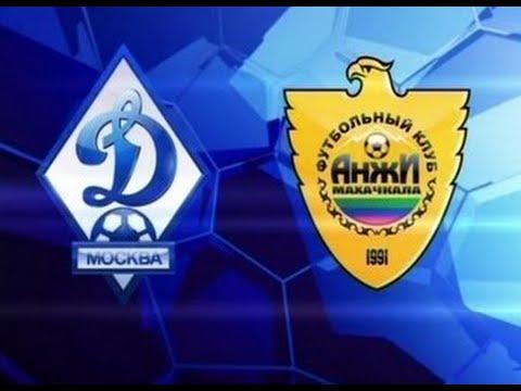 «Анжи» одержал волевую победу над «Динамо» на выезде и покинул зону вылета