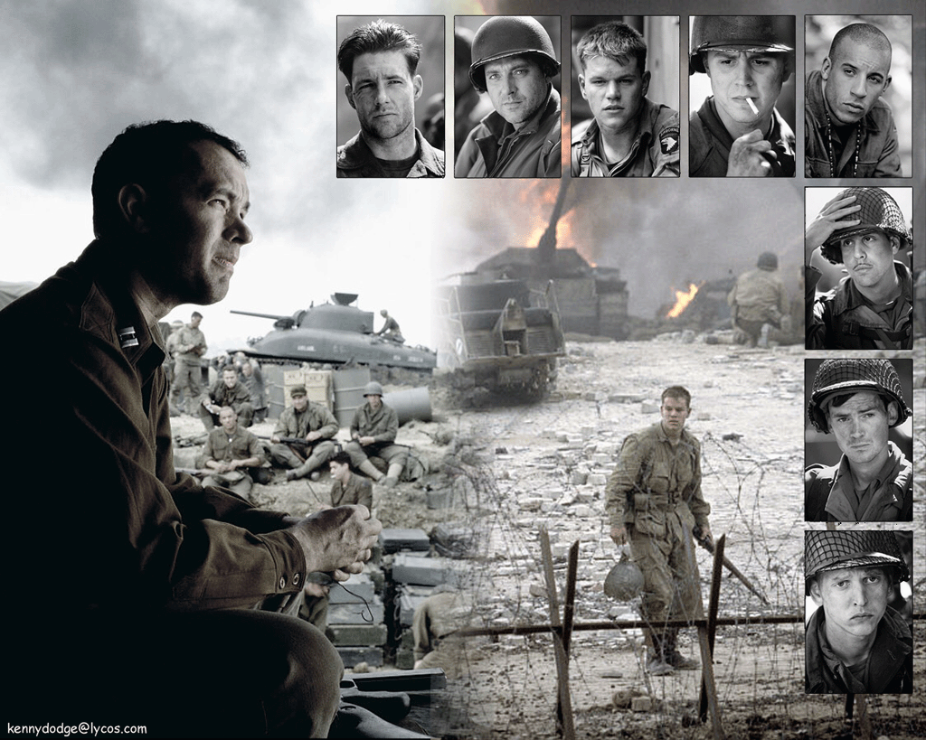 saving private ryan essay topics