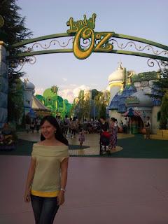 Osaka Universal Studios Japan Land of Oz