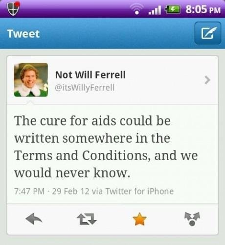 The Cure For Aids On Terms And Condition - We Would Never Know