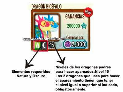 imagen de los requisitos de los apareamientos de dragones especiales