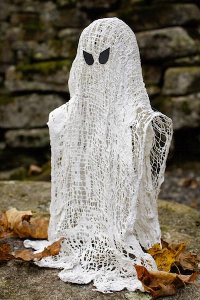 Ashbee design wispy ghosts diy halloween decoration - Diy halloween ghost decorations ...