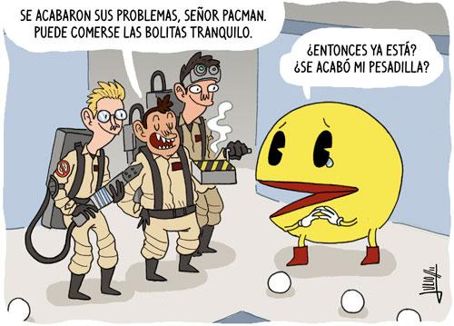 Pacman libre de pesadillas