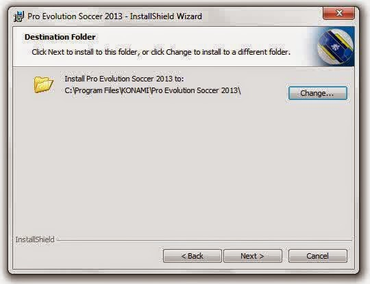 Mengatasi error Pes 2013