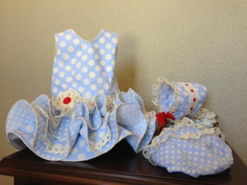 Trajes de flamenca bebé - Imagui