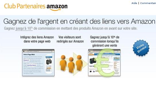 Programme Partenaires Amazon.fr