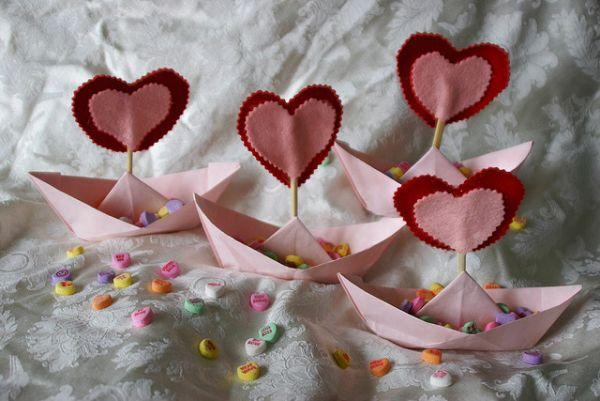 Christian Talk Origami Table Decorations Valentines Unique Ideas