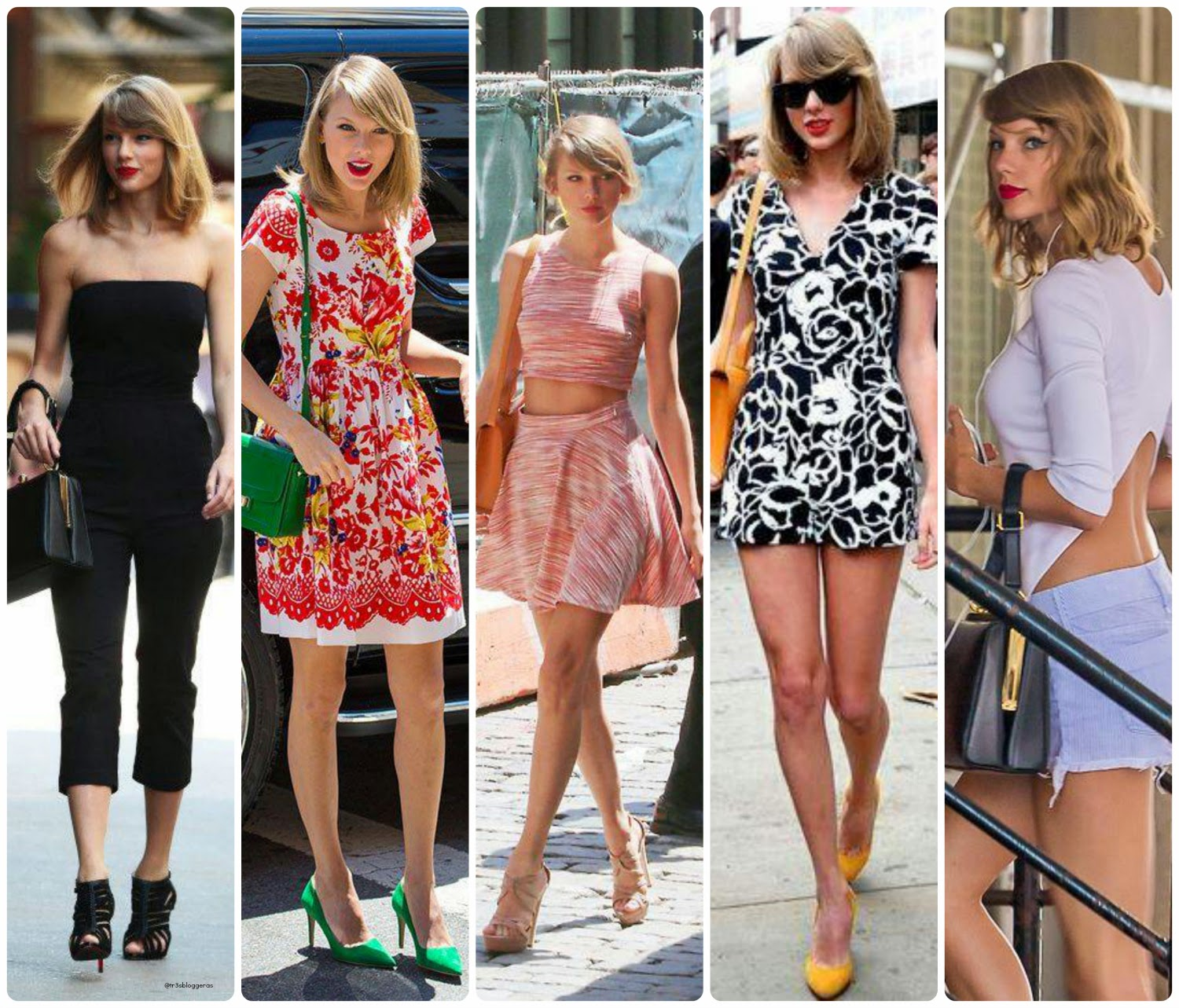 Taylor Swift summer style New York 2014
