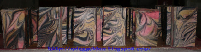 Funnel Swirl Cold Processed Soap