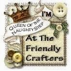 Friendly crafters Naughty step badge