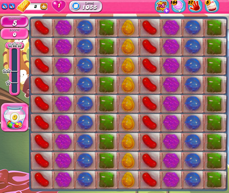 Candy Crush Saga 1055
