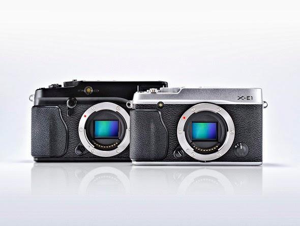 Fotografia dela Fuji X-Pro1 e della Fuji X-E1