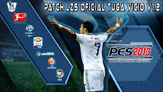 Pro Evolution Soccer 2013 (2012) Patch LZS Oficial Tuga Vicio v1.2