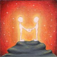 vajra corsi incontri seminari dipinti coppia amore pittura mini quadri piccoli disegno spirituale arte zen