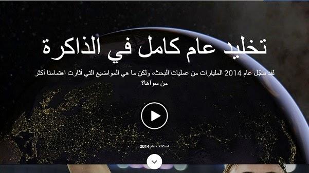 أكثر الأحداث بحثاً علي جوجل لعام 2014 في مصر والسعودية وجميع دول العالم
