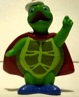 Front of Tuck Turtle figurine from Wonder Pets