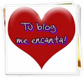 """Premio """"Tu blog me encanta"""""""