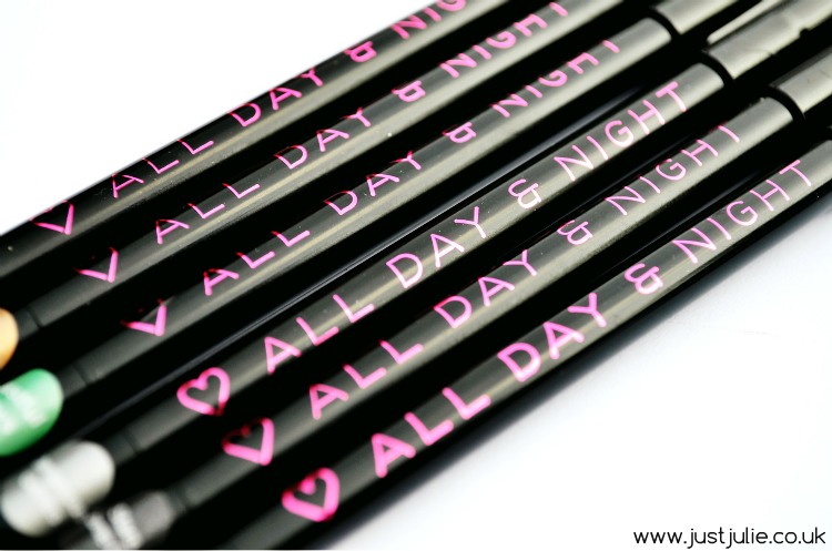 Makeup Revolution I ♡ Makeup All Day and Night Eyeliner Review