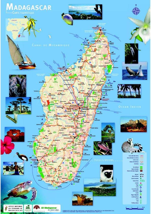 Madagascar le tourisme est d sert toute l 39 actualit des comores - Office national du tourisme madagascar ...