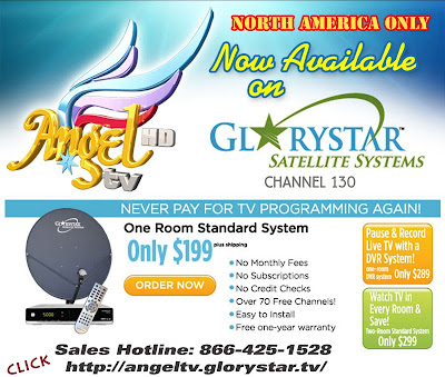 Angel TV HD Now available on GloryStar DTH Service