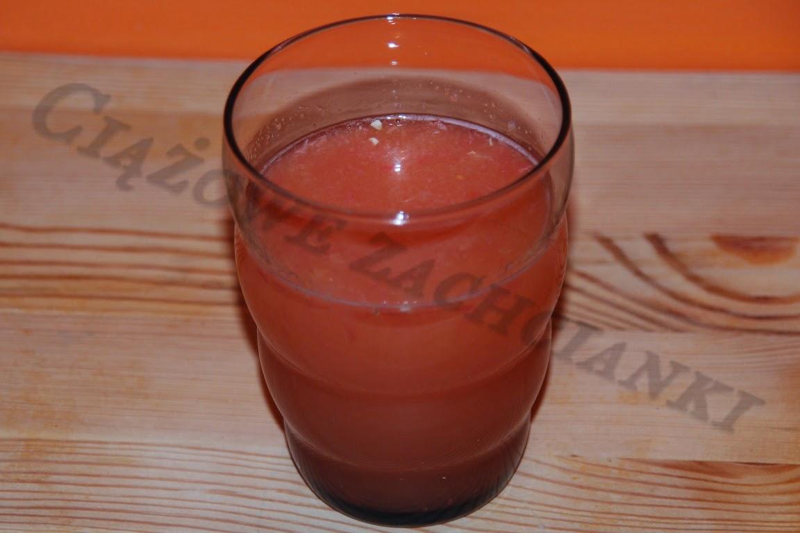 Sok sok pomarańczowo-grejpfrutowy