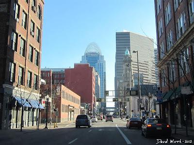 Downtown Cincinnati Street