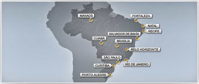 Ciudades Brasil mundial