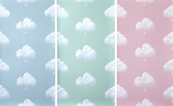 Papier Peint Nuage Papier Peint Nuages De Printemps Rose Mauve With