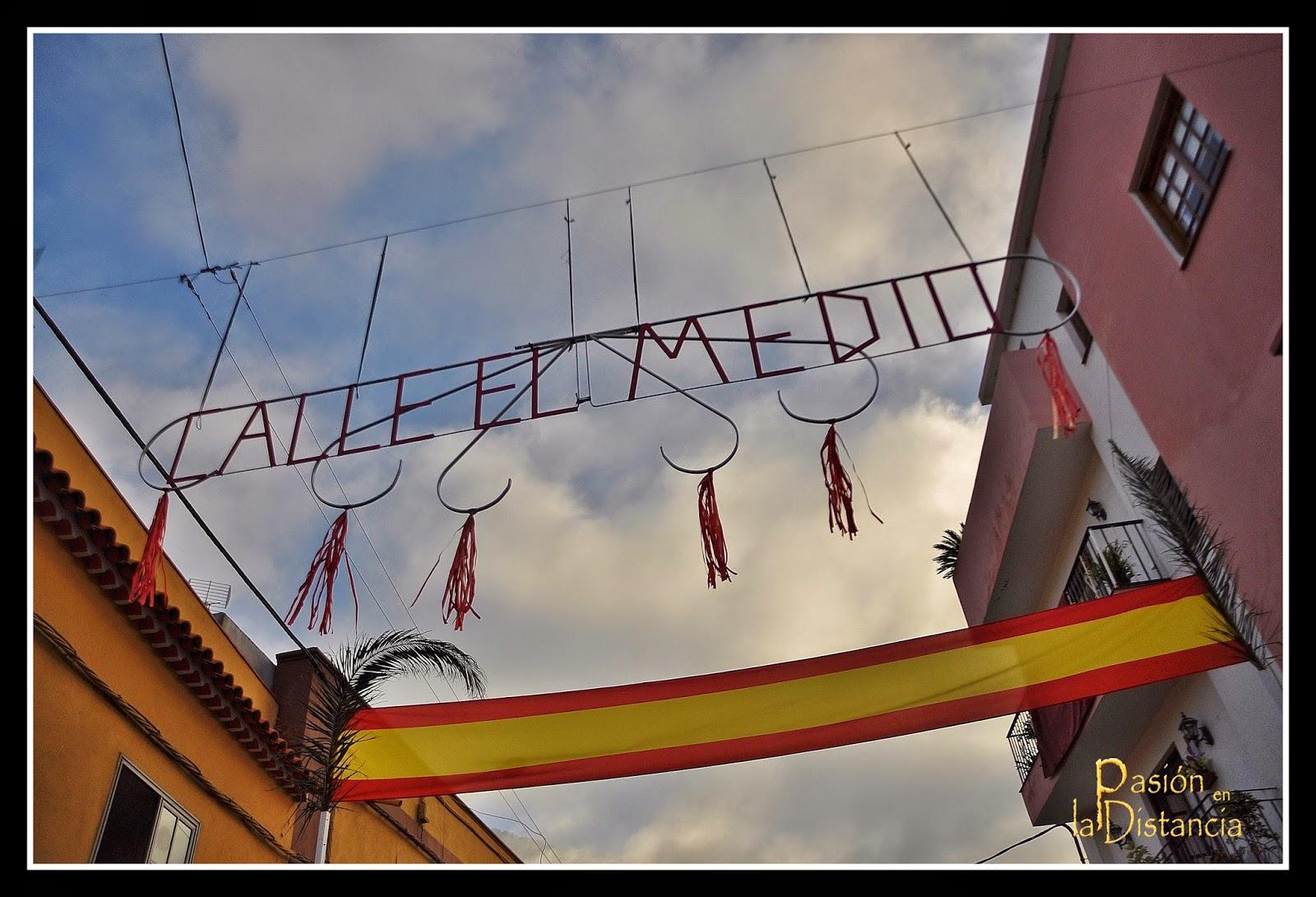 Día de la Cruz en Los Realejos: La calle del Medio